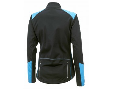 ROSE WIND FIBRE SOFTSHELL women's winter jacket black/sky