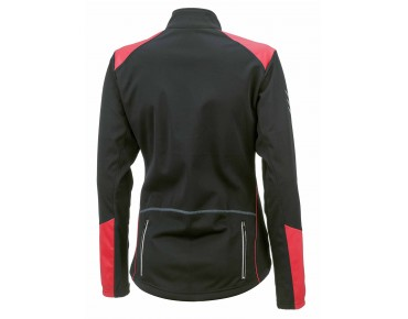 ROSE WIND FIBRE SOFTSHELL women's winter jacket black/teaberry