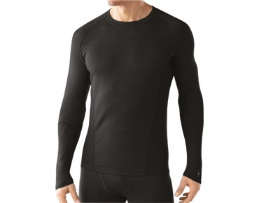 SmartWool MERINO WOOL NTS LIGHT 195 long-sleeved shirt black