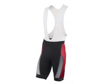 ROSE RACE PRO GF Trägerhose black/red
