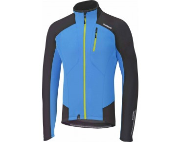 SHIMANO PERFORMANCE windbreaker lightning blue/black