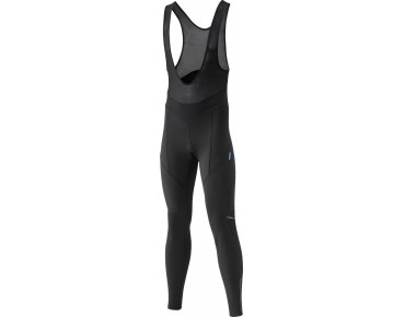 SHIMANO PERFORMANCE WINDBREAKER bib tights schwarz