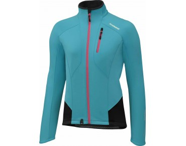 SHIMANO PERFORMANCE women's windbreaker emerald green