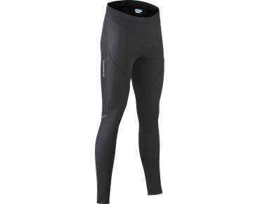 SHIMANO PERFORMANCE women's windbreaker thermal tights long schwarz