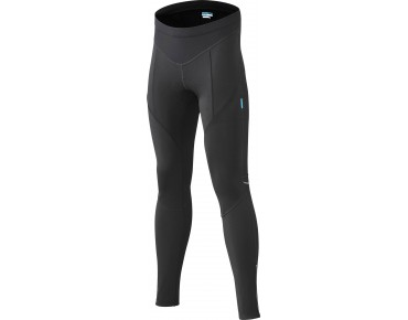 SHIMANO PERFORMANCE Damen Windschutz Thermo-Radhose lang schwarz
