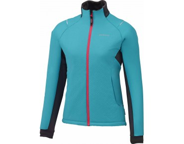 SHIMANO TOUR INSULATED Windschutz-Damenjacke lightning blau