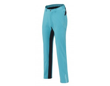 SHIMANO TOUR women's soft shell comfort trousers emerald grün