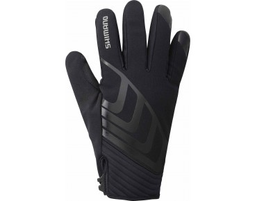 SHIMANO ALLWETTER thermal winter gloves black