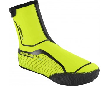SHIMANO S1000X overshoes day-glo yellow