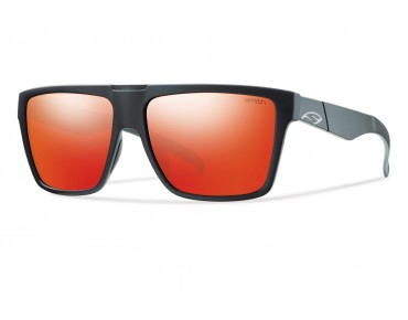 smith optics EDGEWOOD glasses matte black/red slo-x