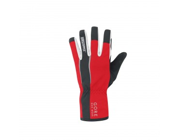 GORE BIKE WEAR POWER WINDSTOPPER SOFT SHELL Handschuhe red