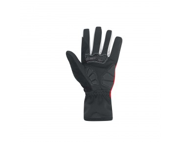 GORE BIKE WEAR POWER WINDSTOPPER SOFT SHELL gloves red