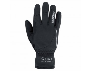 GORE BIKE WEAR POWER WINDSTOPPER SOFT SHELL women's gloves black