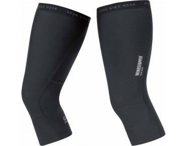 GORE BIKE WEAR UNIVERSAL WINDSTOPPER SOFT SHELL knee warmers black