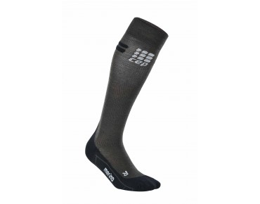 cep RUN MERINO compression socks anthr./black