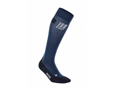 cep RUN MERINO compression socks navy/black