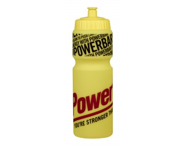 PowerBar drinks bottle yellow/transp.
