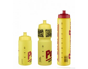 PowerBar drinks bottle gelb/transparent