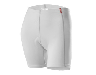 Löffler ELASTIC cycling underpants for women white