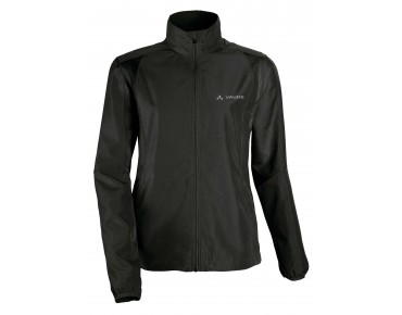 VAUDE DUNDEE CLASSIC ZO JACKET zip-off windbreaker for women black