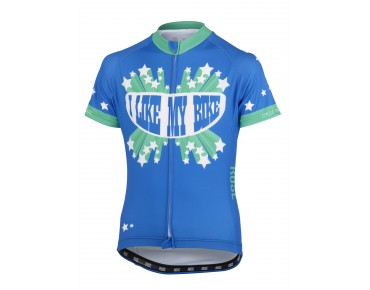 ROSE I LIKE MY BIKE kids' jersey blue/green