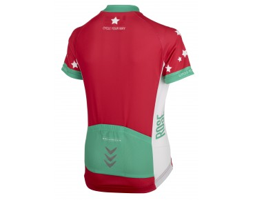 ROSE I LIKE MY BIKE kinderjersey teaberry/green