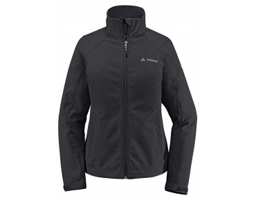 VAUDE HURRICANE III women's softshell jacket black