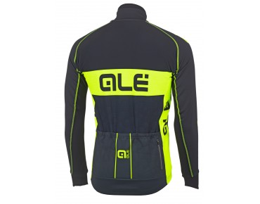ALÉ GRAPHICS PRR NEW BUBBLES soft shell jacket black/fluo yellow