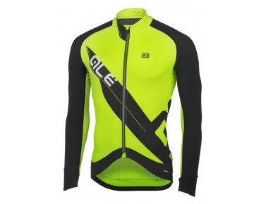 ALÉ ALÉ CLIMA PROTECTION 2.0 long-sleeved jersey fluo yellow