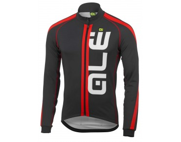 ALÉ TRADE ULTRA CANALE 2015 soft shell jacket black/red