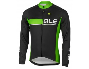 ALÉ ALÉ PLUS URANO 2016 thermal long-sleeved jersey fluo green