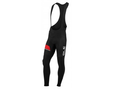 ALÉ TRADE PLUS URANO 2016 thermal bib tights black/red