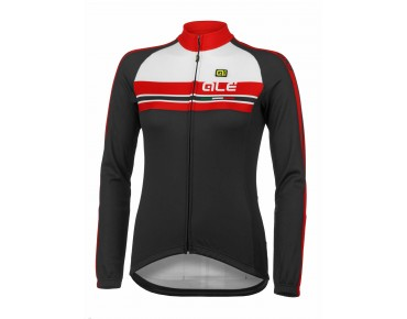 ALÉ TRADE PLUS LIBECCIO women's long-sleeved jersey red