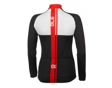 ALÉ TRADE PLUS LIBECCIO Damen Langarmtrikot red