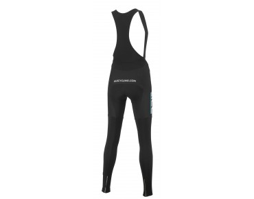 ALÉ ALÉ TRADE PLUS LIBECCIO women's thermal bib tights blue sky