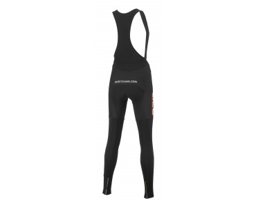 ALÉ ALÉ TRADE PLUS LIBECCIO women's thermal bib tights red