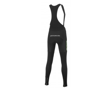 ALÉ ALÉ TRADE PLUS LIBECCIO women's thermal bib tights fluo green