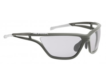 ALPINA EYE 5 VL+ sports glasses tin-white/varioflex+ black