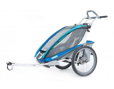 THULE CHARIOT CX1 / CX2 child bike trailer blau