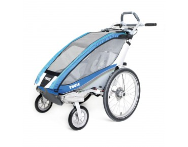 THULE CHARIOT CX1 / CX2 child bike trailer blue