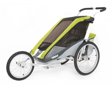 Thule Chariot COUGAR 1 / 2 child bike trailer avocado