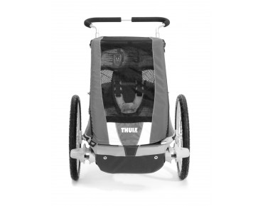 Thule Chariot COUGAR 1 / 2 child bike trailer rot