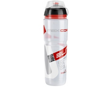 Elite Corsa drinks bottle with protective cap transparent