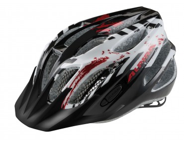 ALPINA FB JUNIOR 2.0 kids' helmet black/white/red