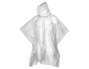 keine Marke OXFORD Regen-Folienponcho transparent