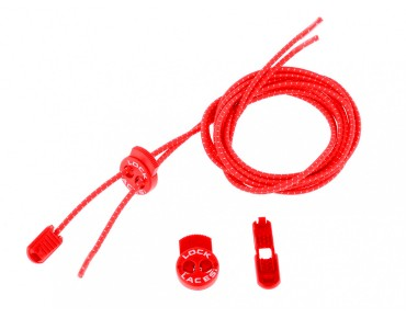 Lock Laces lacing system (1 pair) red