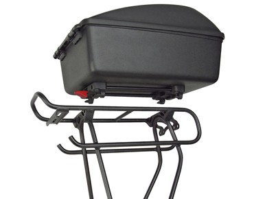 KLICKfix BIKE BOX for Racktime black