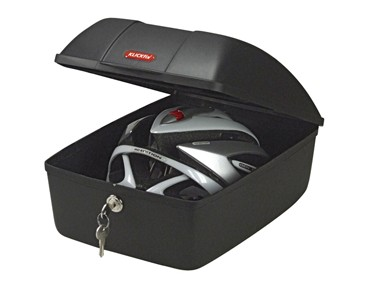 KLICKfix BIKE BOX for Racktime schwarz