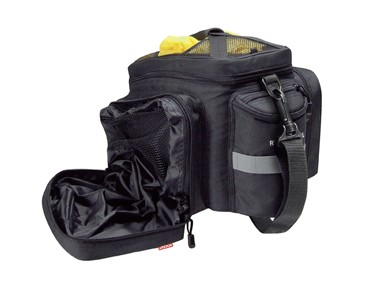 Rixen & Kaul RACKPACK 2 PLUS for Racktime pannier black