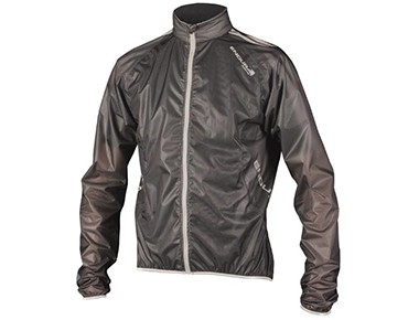 ENDURA ADRENALIN RACE Regenjacke black
